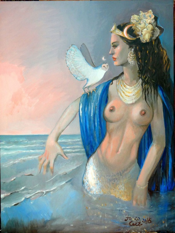Lilith in the sea - Image 0