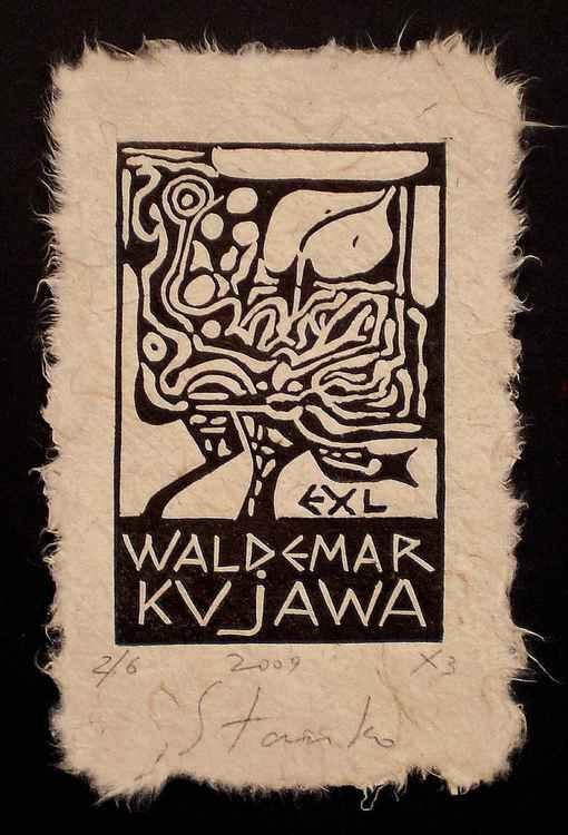 Ex-libris Waldemar Kujawa