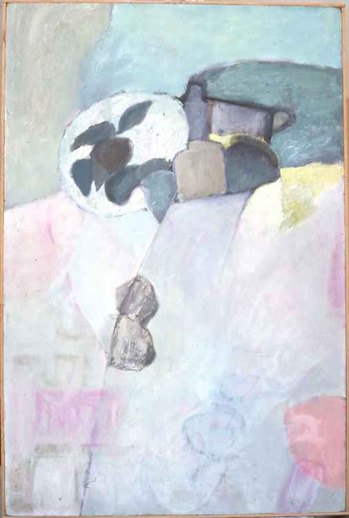 Composition with still-life