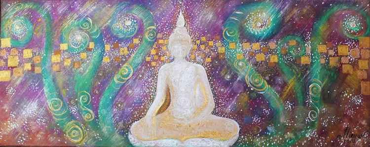 White Buddha no.1 -