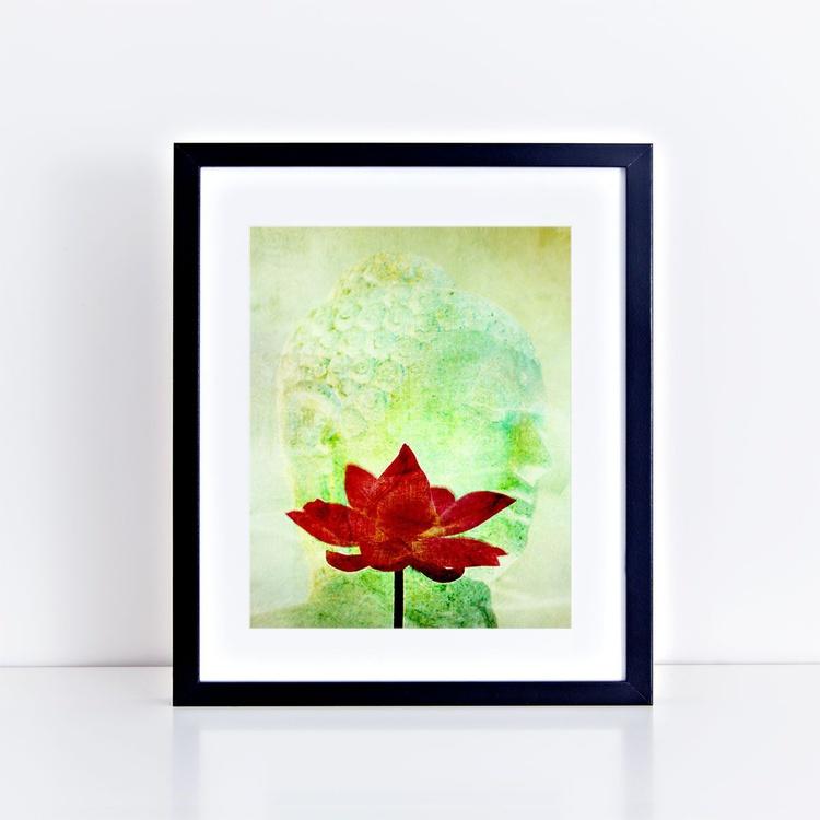 buddha and lotus - Image 0