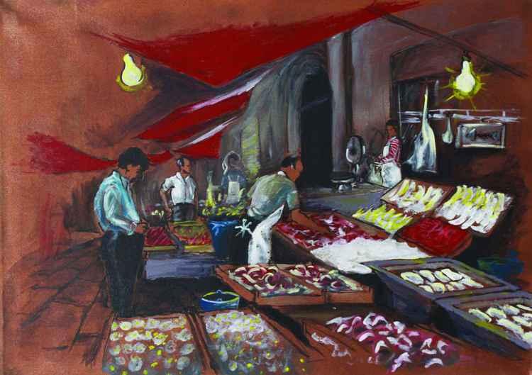 Ballarò - Sicilan Street Market