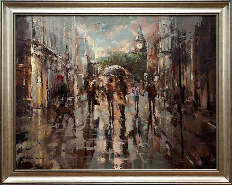 'London Rain' - Image 0