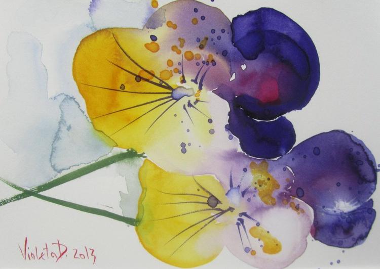 Tickle my Fancy 2 (Viola Tricolor) - Image 0