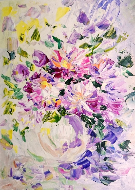 Bouquet of asters - Image 0