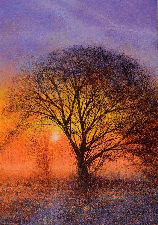 The Big Tree At Sunset - Image 0