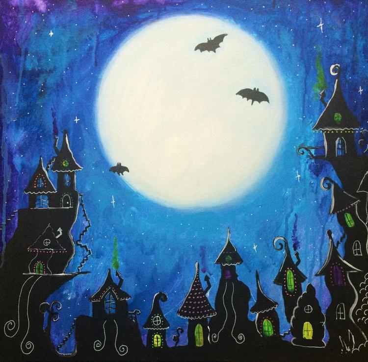 Full Moon Town - Image 0