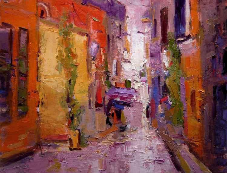 Backstreet in Rovinj