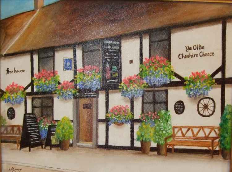 Ye Olde Cheshire Cheese Pub -