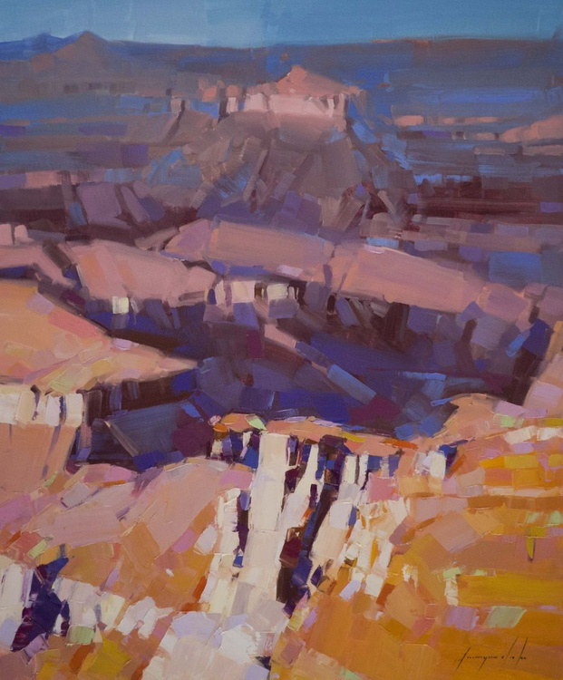 Grand Canyon National Park Handmade oil painting One of a kind Signed painting - Image 0