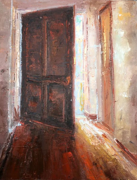 Light behind a door - Image 0