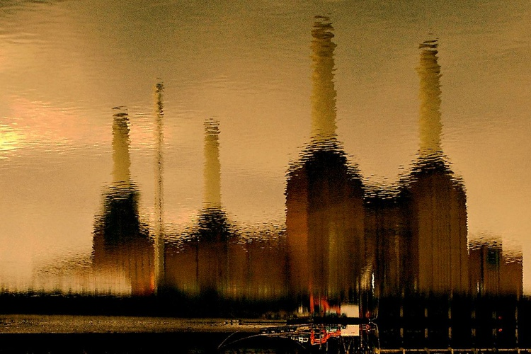 "ORIGINAL BATTERSEA WATER 2006 Limited edition  1/50 30""x20"" - Image 0"