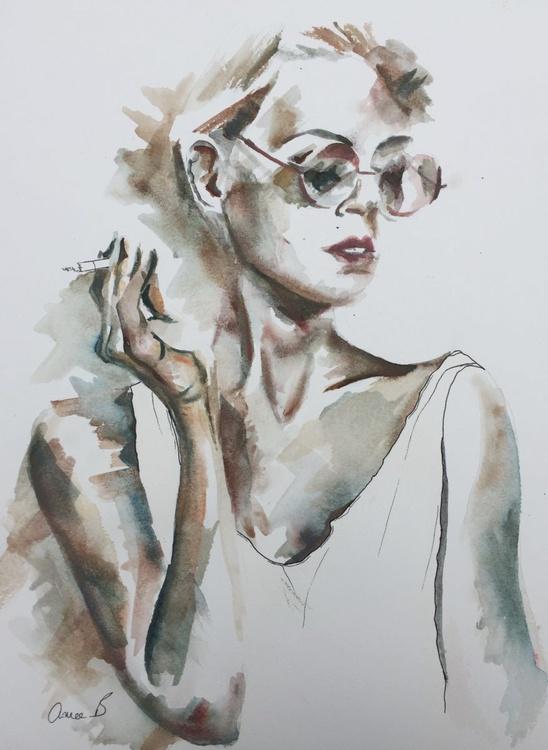 Girl Waiting - Image 0