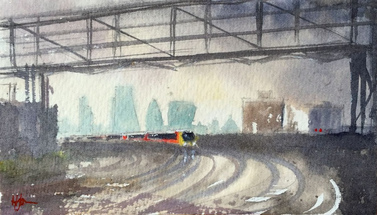The City from Clapham Junction - Image 0