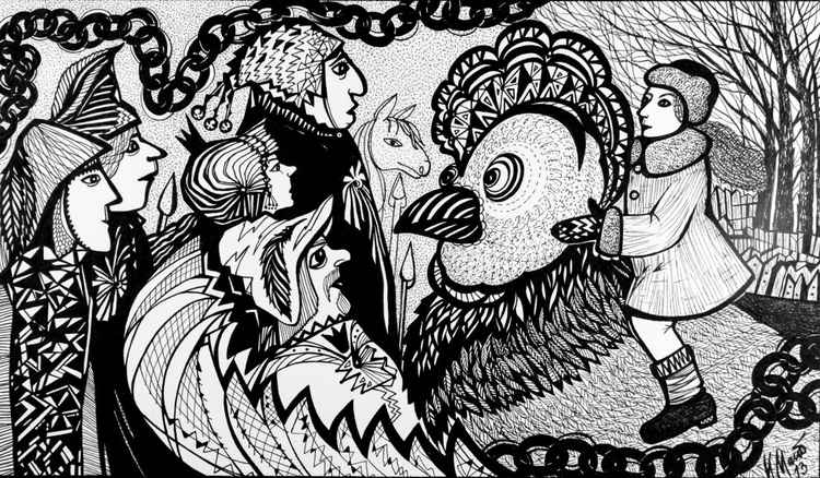 Black Hen or Living Underground: a fairy tale