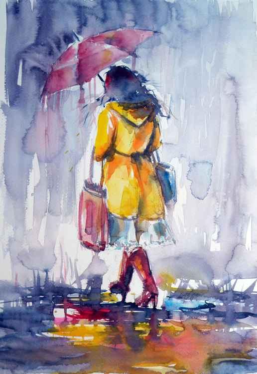 Walk in rain II