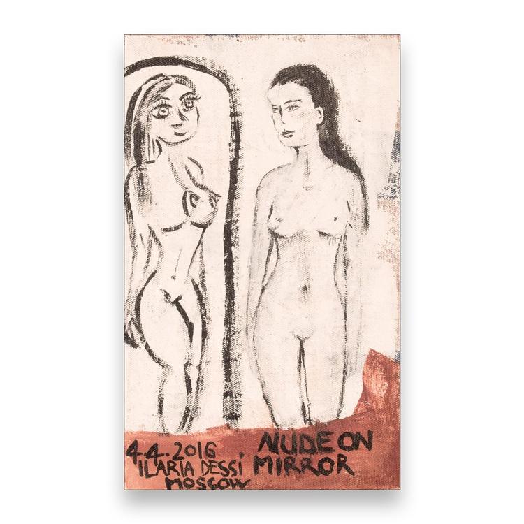 Nude on mirror - Image 0