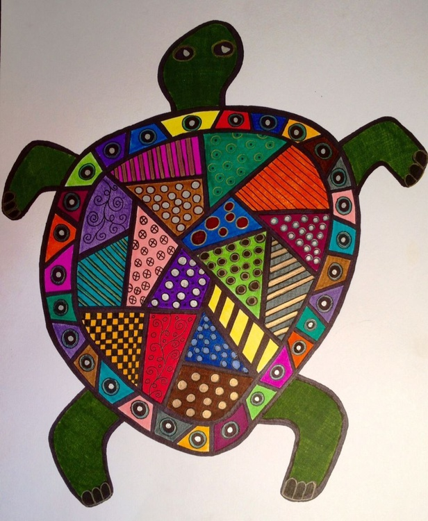 Patchwork Sea Turtle - Image 0