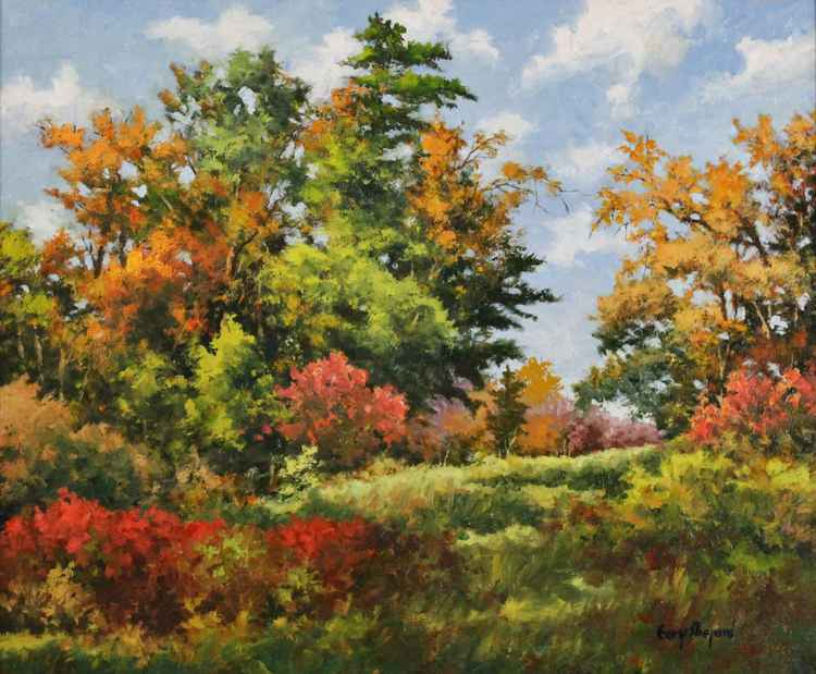 Autumn Colors 20 X 24 Oil