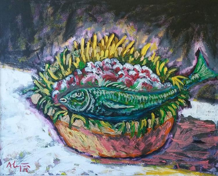 Green fish - Image 0