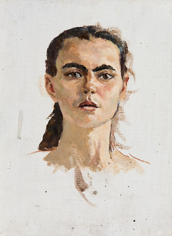 Portrait of a Young Girl - Image 0