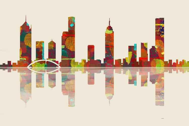 Melbourne Skyline 2