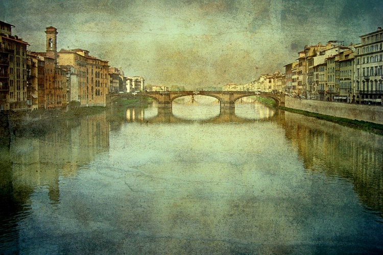 Florence - View from the Ponte Vecchio - Image 0