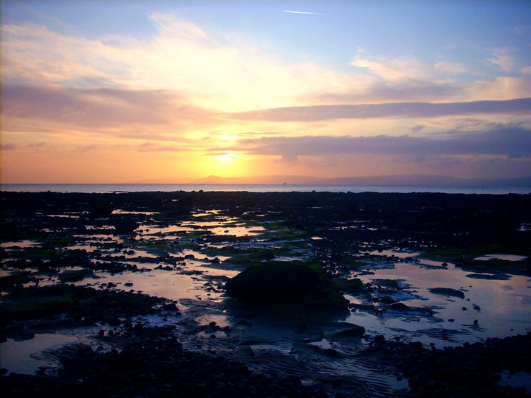 Sunset on West Kilbride - Image 0