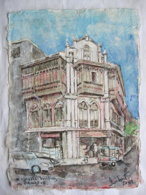A Classic Building in Bangkok - Image 0