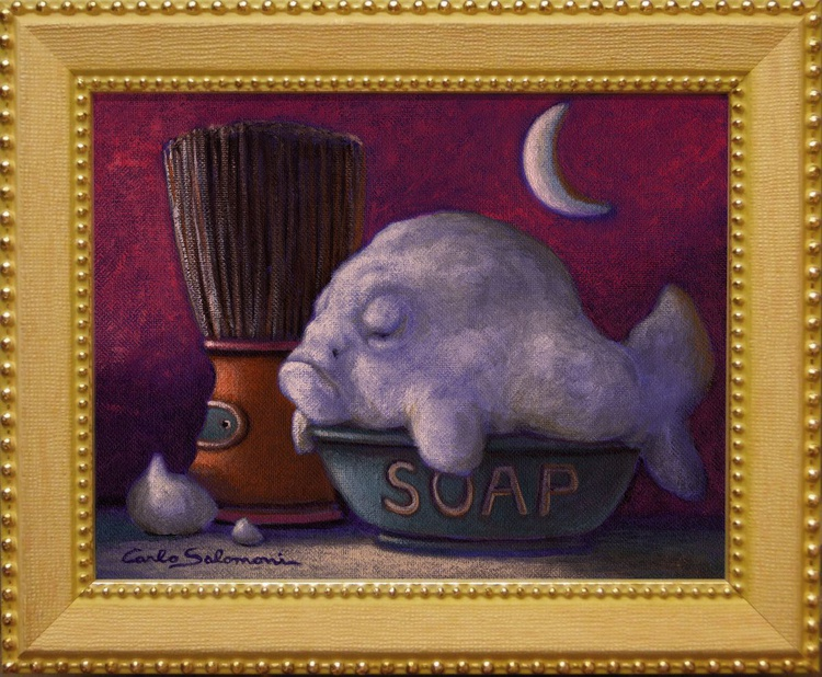 THE SOAP FISH - (framed). - Image 0