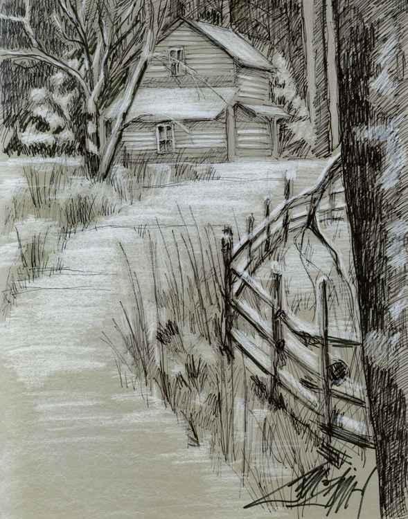 Snowy Path -