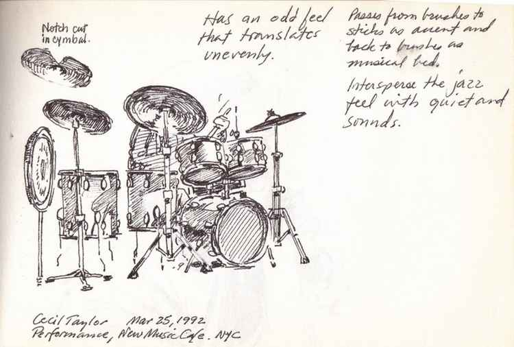 Cecil Taylor's Drummer