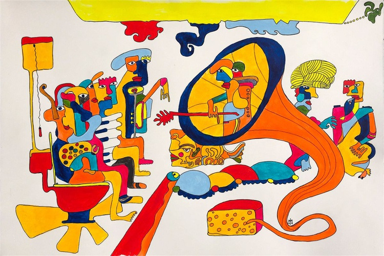 Different angle of Yellow Submarine - Image 0