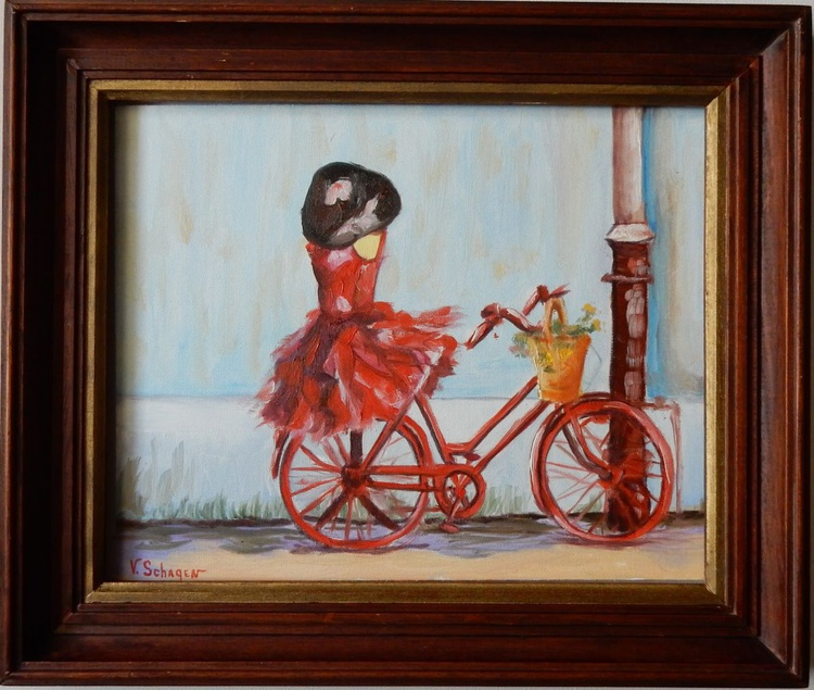 Red bike - Image 0