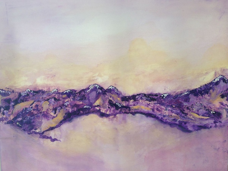 Lost in Amethyst - Currently Under review for exhibition - Image 0