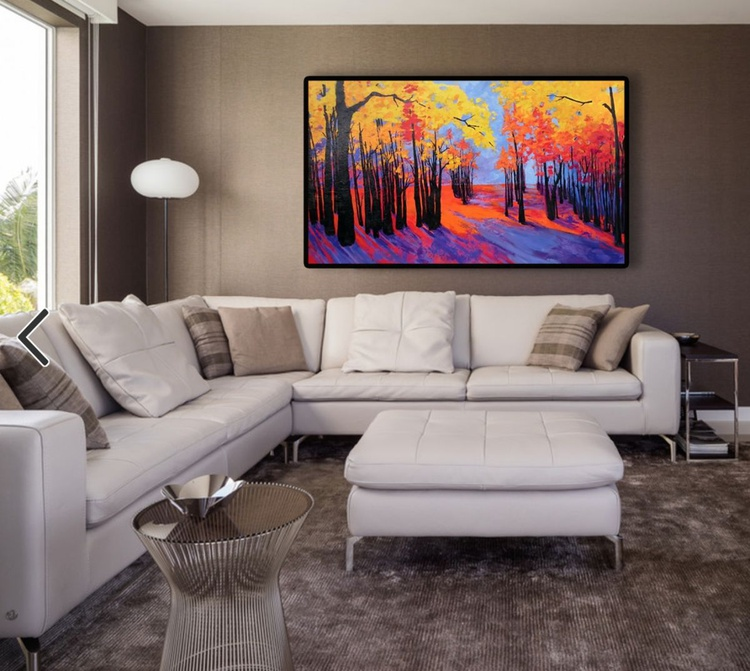 Magic Within | Enchanted Forest Collection | Landscape Painting - Image 0