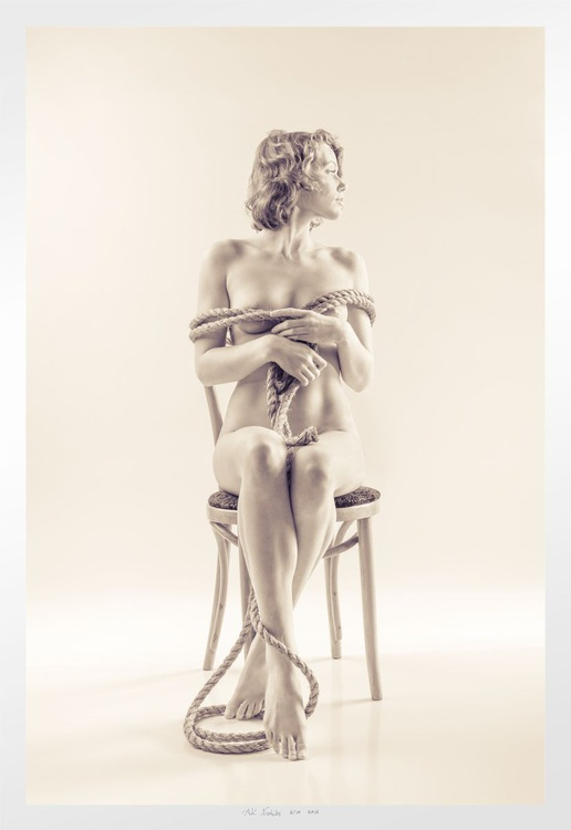 Hope Twisted Manilla Wrapped in Chair - Image 0