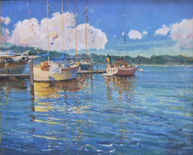 Reflection of the boats - Image 0