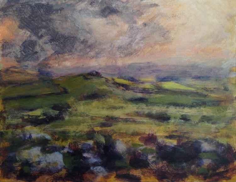 Dartmoor - Late afternoon No 1 -