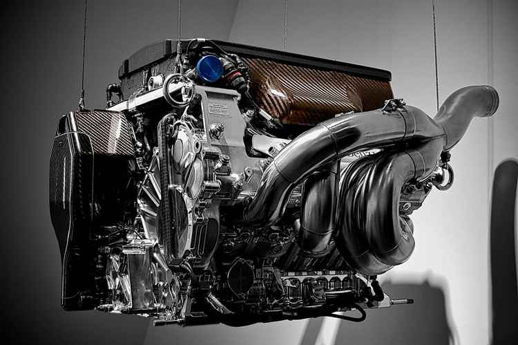 F1 Engine in a state of raw.....