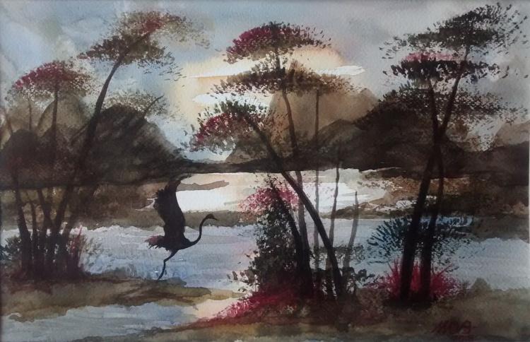Water bird - Image 0
