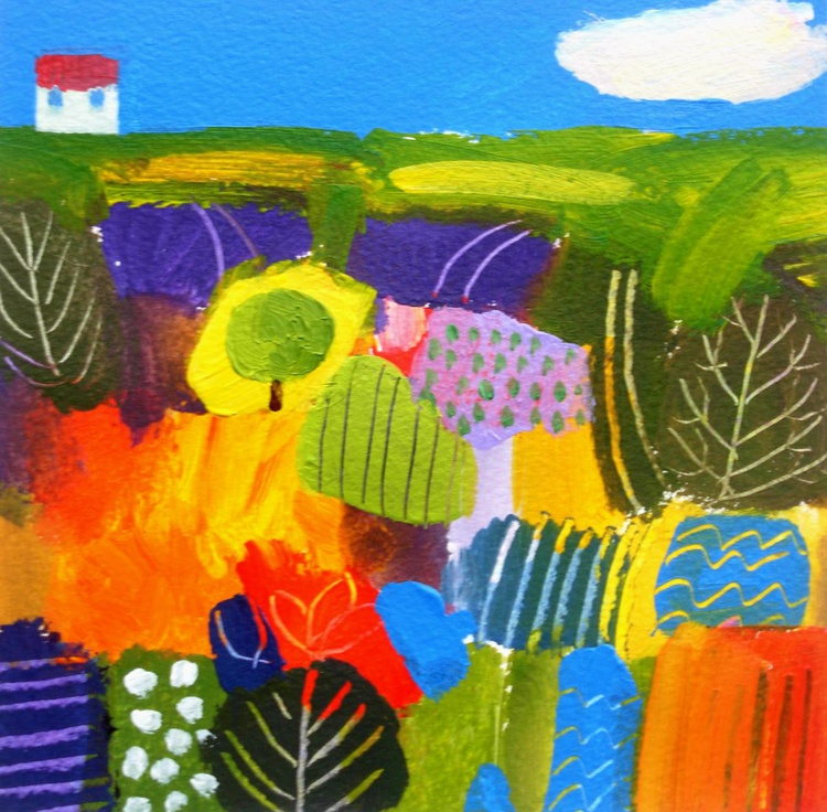 Summer Landscape 3 - Image 0