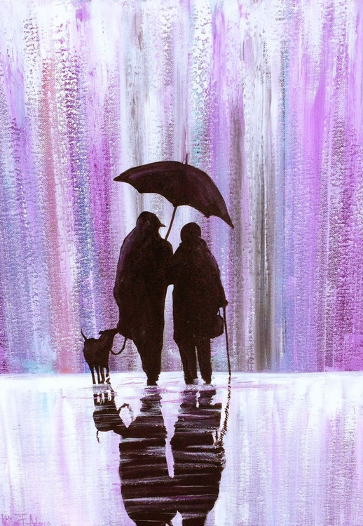 Lavender Rain with my Best Friends - Image 0