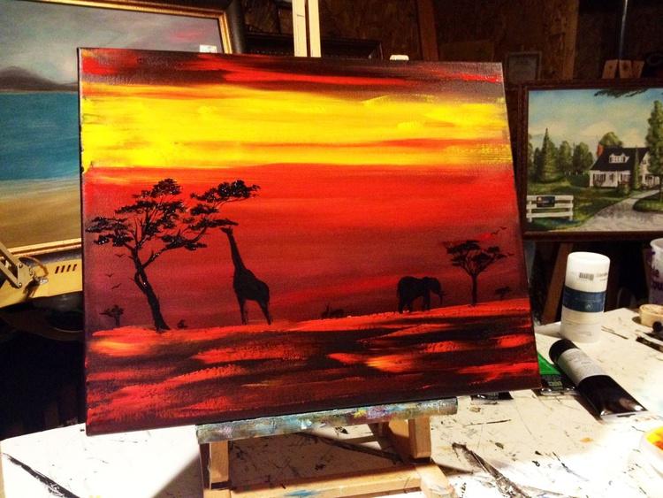 Serengeti Sunset - Image 0