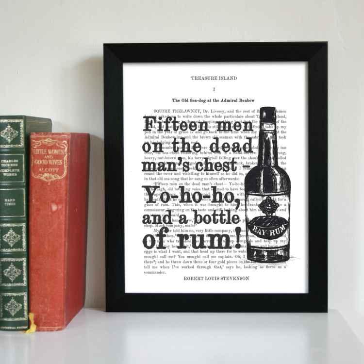 Yo-Ho-Ho, and a Bottle of Rum -