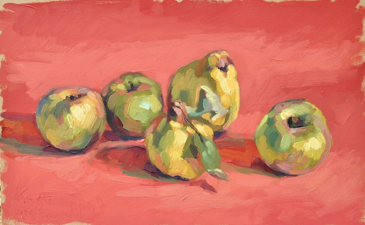 October 25, quinces and apples - Image 0