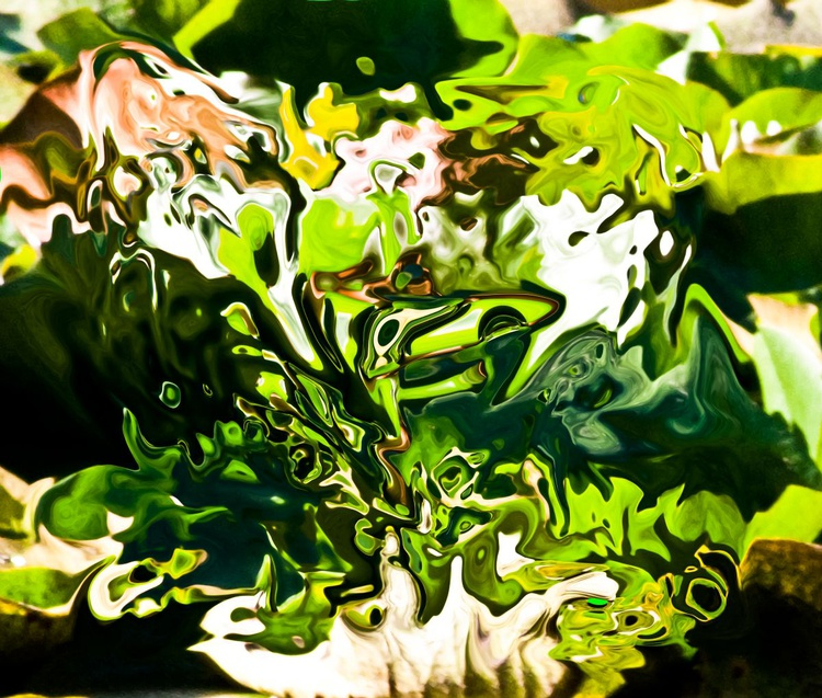 green abstract fantasy - Image 0