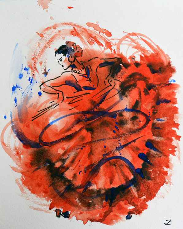 Flamenco Dancer -