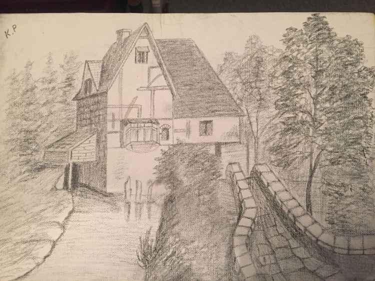 pencil drawing -