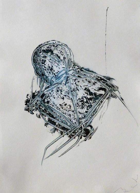 Prolegomena #75 , Acrylic on paper 29x42 cm - Image 0